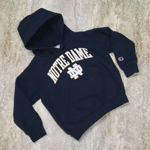CHAMPION YOUTH NOTRE DAME HOODIE SIZE XS